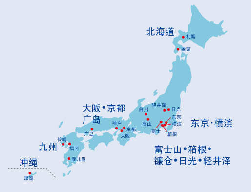 GOLDEN ROUTE MAP