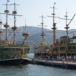 Pirate Ships on Lake Ashi