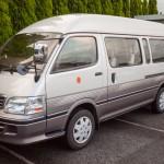 Chauffeur‐driven Hired Van